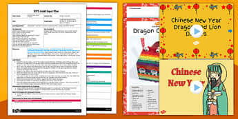 Dragon Costume Craft Adult Input Plan and Resource Pack - dragon, costume, craft, adult input, pack