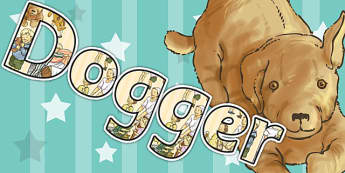 Display Lettering to Support Teaching on Dogger - letter, displays, poster, posters