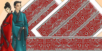 The Shang Dynasty Border Pieces - shang dynasty, border, display