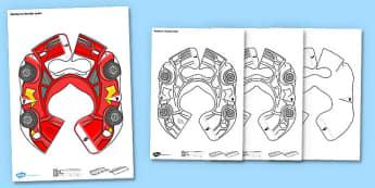 Racing Car Bee Bot Jacket - racing car, bee bot, beebot, bee-bot, jacket