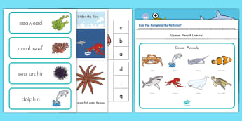 Ocean Habitat Early Childhood Resource Pack - ocean, Ocean habitat, ocean creatures, under the sea, oceans early childhood