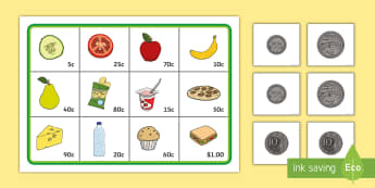 Coin Addition to $1 Activity - kindy, year 1, year 2, money, calculating, addition, adding.,Australia