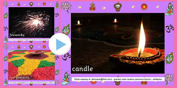 Diwali Photo PowerPoint - diwali, powerpoint, photo powerpoint, images, pictures, presentation, discussion starters, group discussion, class discussion