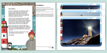 Editable Lighthouse Letter and Resource Pack - EYFS, Early Years, Early Years planning, Key Stage 1, KS1, topic starter, topic introduction, Wow ac