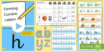 Cursive Handwriting and Letter Formation Pack - Cursive Handwriting Sheets
