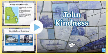 John Kindness PowerPoint - Northern Ireland, Artists, John Kindness, art, sculpture, Belfast, big fish, new gasworks, belfast,