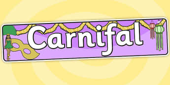 Carnival Themed Banner Welsh - carnifal, carnival, header, banner