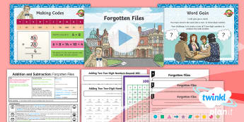 PlanIt Y3 Addition and Subtraction Lesson Pack Formal Written Methods (2) - Addition and Subtraction, add, more, plus, and, make, altogether, total, equal to, equals, double, m