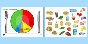 Meniul Sanatos - Activitate manuala, alimente