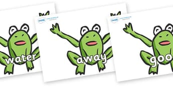 Next 200 Common Words on Frogs - Next 200 Common Words on  - DfES Letters and Sounds, Letters and Sounds, Letters and sounds words, Common words, 200 common words