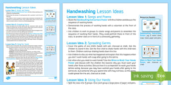 Hand Washing Lesson Ideas - global, Africa, children, partnership, water, sanitation, hygiene