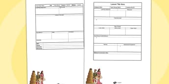 Early Islamic Civilisation Editable Individual Lesson Template