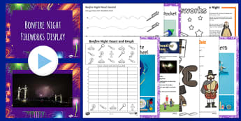 Home Educator Bonfire Night  Activity Pack