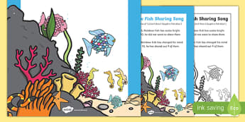 Sharing Song to Support Teaching on The Rainbow Fish