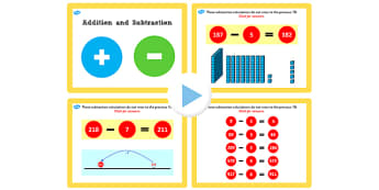 Y3 Addition Subtraction Lesson 2a Subtracting One Not Crossing 10
