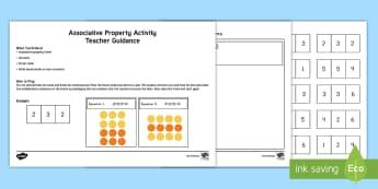 Associative Property Activity Mat - Properties, Associative property, Multiplication, Properties of Multiplication, Common Core
