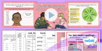 PlanIt Spelling Year 3 Term 3A W3: Words with the Short / u / Sound Spelt with ou Spelling Pack - Spellings, Year 3, Term 3A, W3, short sound /u/ spelt with 'ou, digraph, vowel digraph, ou