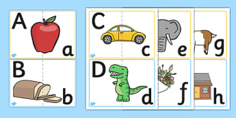 Upper and Lower CaseLetter Matching activity - letters, matching, literacy, alphabet