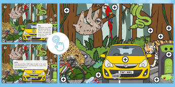 Earth Day Picture Hotspots - KS1, Year 1, Year 2, Earth Day, Recycle, Environment, Trees, Animals, Planet, Science, Geography, Twinkl Go, twinkl go, TwinklGo, twinklgo