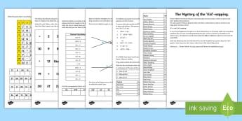UKS2 Spring Mystery Maths Game - Spring UK, spring, maths, UKS2 maths, Y6 maths, year 6 maths, Y5 maths, year 5 maths, maths games, p