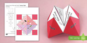 AVOIR Present Tense Fortune Teller - French, Fortune Teller, avoir, present, tense, conjugation,French