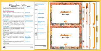 EYFS Autumn Discovery Sack Plan and Resource Pack - EYFS planning, Early years activities, seasons