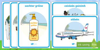 Póstaeir Thaispeána an tSamhraidh - Summer Display Posters, póstaeir thaispeána an tsamhraidh, an samhradh, Summer, display poster, p