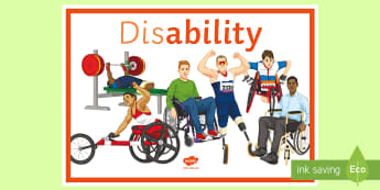 (Dis) Ability A4 Display Poster - Disability, disability awareness, special needs, SEN, discrimination