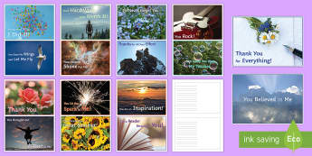 'Thank You' Teacher Postcards - postcards, KS3 postcards, Thank you, thanks, form teacher, Ks4 postcards