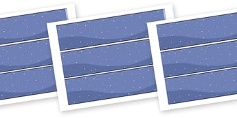 Space Stars Display Borders - space stars display borders, space, stars, rocket, astronaut, display border, classroom border, border, stars
