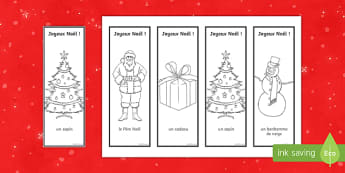 Merry Christmas Bookmarks