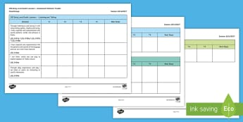 CfE Early Level Gaelic Learners Experiences & Outcomes Assessment Tracker-Scottish - CfE Gaelic Learners, Tracker, Experiences, Outcomes, Assessment, Tracking,,Scottish