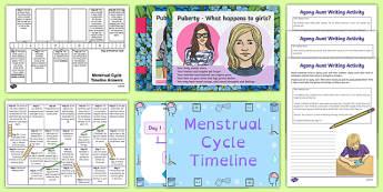 Menstruation Teaching Pack - sex education