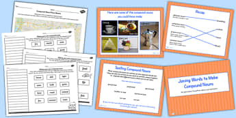Joining Words to Make a Compound Noun SPaG Lesson Teaching Pack