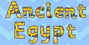 Ancient Egypt Display Letters - ancient, egypt, display, letters