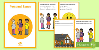 Personal Space Social Situation - social stories, ASD, autism, personal space,