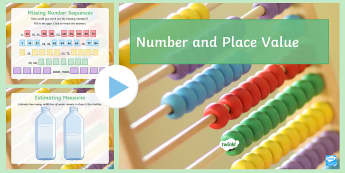 Number and Place Value PowerPoint  - Secondary - SEN - lower ability resources