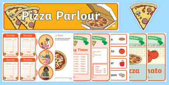 Pizza Parlour Role Play Pack - ESL Role Play Resources