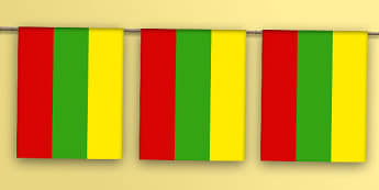 Lithuania Flag Bunting - lithuania flag, lithuania, flag, bunting, display bunting, display