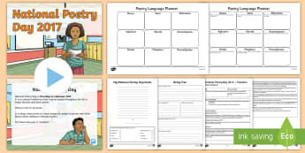 LKS2 National Poetry Day 2017 Resource Pack - poetry writing, writing a poem, poetry techniques, y3, y4, creative writing, writing techniques