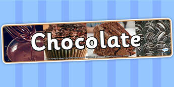 Chocolate Photo Display Banner - chocolate, IPC, IPC display banner, chocolate IPC, chocolate display banner, chocolate IPC display