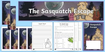 Years 3 and 4 Chapter Chat Week 1   Activity Pack to Support Teaching on The Sasquatch Escape by Suzanne Selfors - New Zealand Chapter Chat, Chapter Chat NZ, Chapter Chat, sasquatch