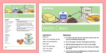Welsh Cake Recipe - Elderly, Reminiscence, Care Homes, St. David's Day