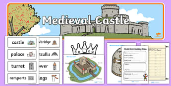 Medieval Castle Role Play Pack - Medieval castle, castle, role play, pack, castles and knights, tickets, history, role play, turret, moat, drawbridge, maiden, knight