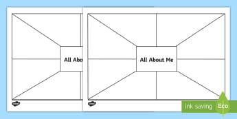 All About Me Activity Sheet - ROI Back to School Resources, back to school, september, getting to know me, activity, art, sphe, te