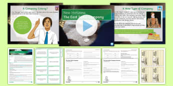 The East India Company Differentiated Lesson Pack - East India Company, India, Colony, Surat, James I, Mughal