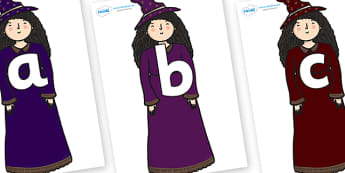 Phoneme Set on Witch - Phoneme set, phonemes, phoneme, Letters and Sounds, DfES, display, Phase 1, Phase 2, Phase 3, Phase 5, Foundation, Literacy