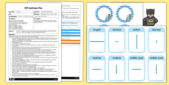 EYFS Supermarket Shelf Shuffle Adult Input Plan and Resource Pack