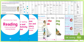 ATs Survival Year 2 Parents' English Practice and Revision Activity Pack  - SATs Survival Materials Year 2, SATs, assessment, 2017, English, SPaG, GPS, grammar, punctuation, sp