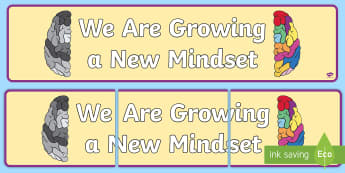 We Are Growing a New Mindset Display Banner - We Are Growing a New Mindset Display Banner - growth, mindset, display banner, growth minset, growth